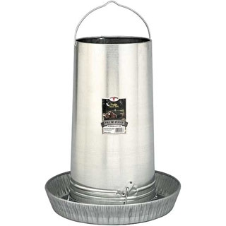 Little Giant Galvanized Hanging Feeder, 40 lbs.