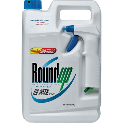 Roundup Weed & Grass Killer Spray, 32oz