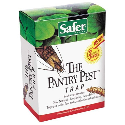 Safer Pantry Pest Trap With Lure, 2 Pack