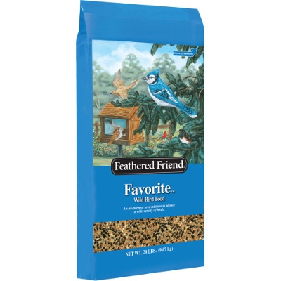 Feathered Friend Favorite Wild Bird Food, 20 lbs.