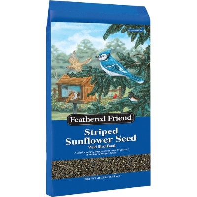 Grey Stripe Sunflower Food, 40 lbs - $26.88