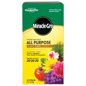 Miracle Gro Plant Food, 4 lbs.