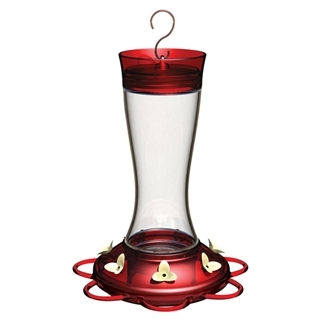 Classic Brands Garnet Hummingbird Feeder, 20 oz.