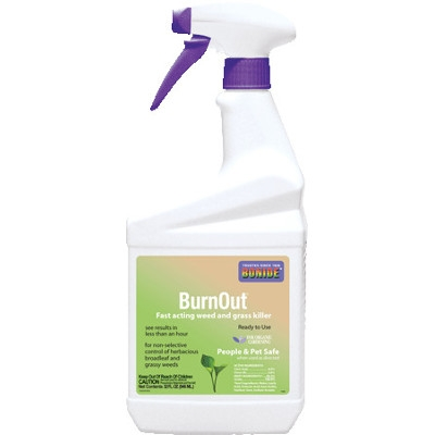 Bonide Burn Out Weed & Grass Killer, RTU Quart