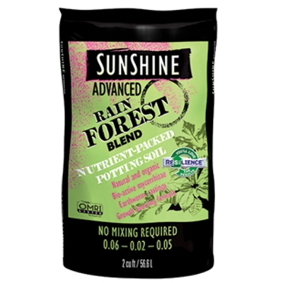 Sun Gro Sunshine Advanced Rain Forest Soil, 2 cu. ft.Â