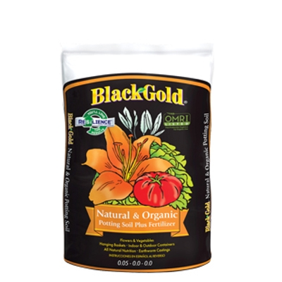 Black Gold Natural & Organic Soil Mix, 2 cu. ft.