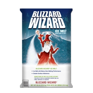 Blizzard Wizard 40 lb Ice Melt Mix