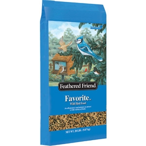 Feathered Friend Favorite Bird Seed, 20# - $6.88