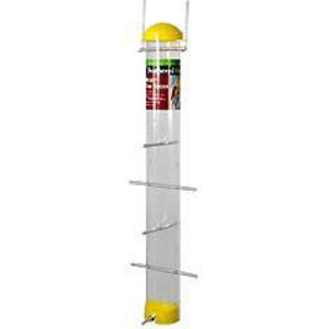 Nyjer Seed Tube Feeder - Yellow 22 inch