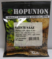 HOP PELLETS CZECH SAAZ 1 OZ