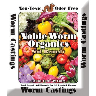 Noble Worm Organics Soil Remedy Worm Casting
