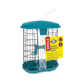 Stokes Squirrel Resistant Hopper Bird Feeder