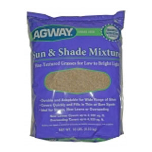 Agway Sun and Shade Mix Grass Seed, 10lb