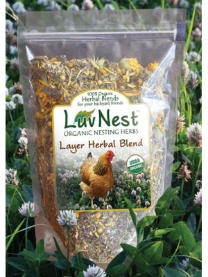 Luv Nest - Layer Nest Herbal Blend for Chickens