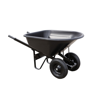 Wheelbarrow - 8 cu. ft. 2 Wheel Steel Handle