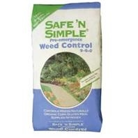 Safe n Simple Organic Corn Gluten Weed Control, 50lb Bag