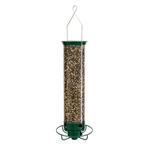 Yankee Flipper Squirrel Proof Bird Feeder Green 21â€