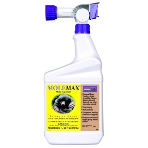 Bonide MoleMax Mole & Vole Repellent Spray, 1qt