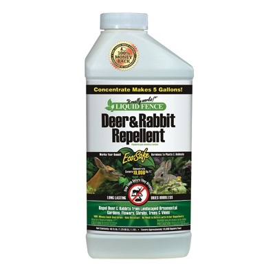 Liquid Fence Deer and Rabbit Repellent Concentrate 40 oz