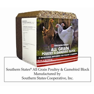 Southern States All Grain Poultry & Gamebird Block