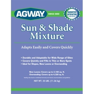 Agway® Sun & Shade Grass Seed Mixture 25lb