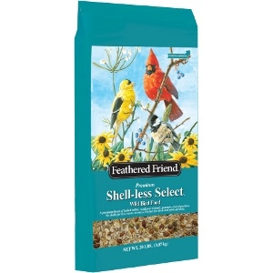 Feathered Friend Shell-less Select Bird Seed (20lbs)