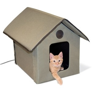 K&H Heated Outdoor Kitty House, 20 Watt