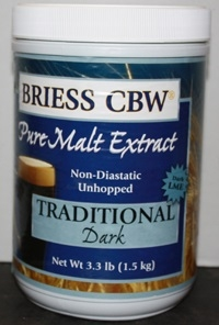 BRIESS TRADITIONAL DARK MALT 3.3LB CANISTER
