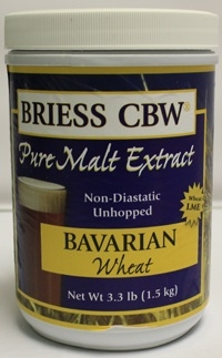 BRIESS BAVARIAN WHEAT MALT 3.3LB CANISTER
