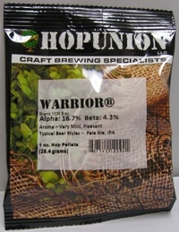 HOP PELLETS US WARRIOR 1 OZ