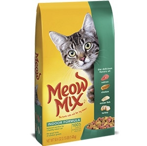 Meow Mix Indoor Forumla 14.2lb. Cat Food
