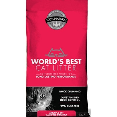 World's Best Multi-Cat Clumping Litter, 28 lbs.