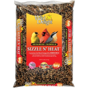 Wild Delight Sizzle N' Heat Bird Seed, 14 lbs.