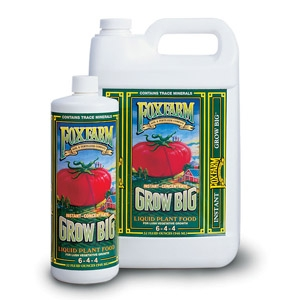 Fox Farms Grow Big Liquid Plant Food, 1 Pint