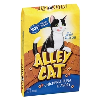 Alley Cat Chicken & Tune Dry Cat Food, 13.3 lbs.