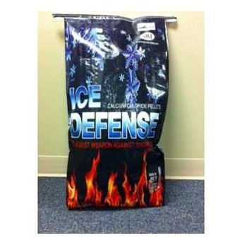 Ice Defense Calcium Chloride Pellets, 50 lbs.
