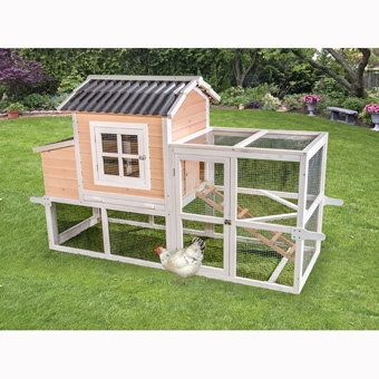 WARE BIG DUTCH BARN WITH PEN CHICKEN COOP
