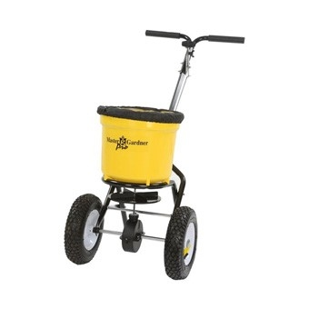 Master Gardener Broadcast Spreader with Rain Cover