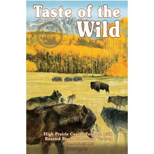 Taste of the Wild High Prairie Roasted Bison & Venison Dry Dog Food, 30 lbs.