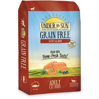 Under The Sun Grain Free Salmon Adult Cat Food, 5 lbs.