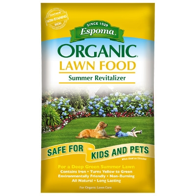 Espoma Organic Summer Revitalizer for Lawns, 30 lbs. 5K
