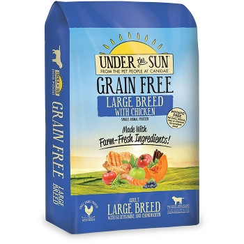 Under the Sun® Grain Free Chicken Large Breed Dog Food, 25 lbs.