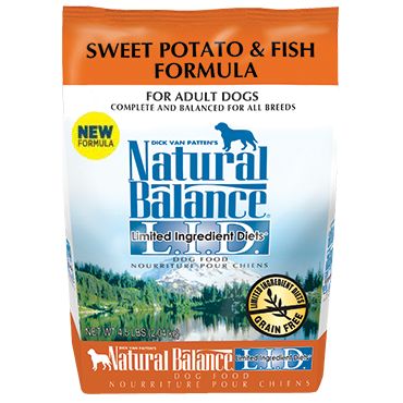 Natural Balance Limited Ingredient Diets® Sweet Potato & Fish Dry Dog Food, 26 lbs.