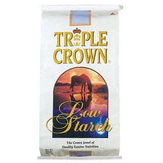 Triple Crown Low Starch Pelleted Horse Feed, 50 lbs.