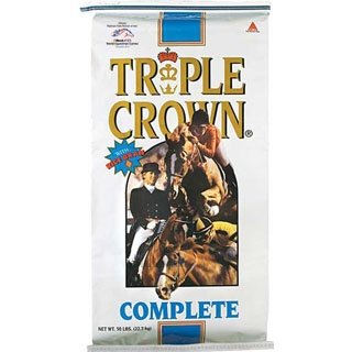 Triple Crown Complete Textured Horse Feed, 50 lbs.