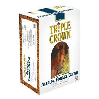 Triple Crown Alfalfa Forage Blend for Horses, 40lbs.