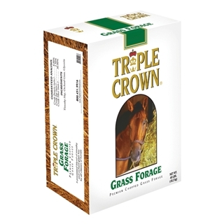 Triple Crown Grass Forage for Horses, 40 lbs.