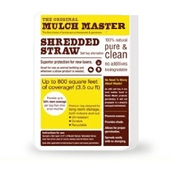 Iron Will Farm® Mulch Master Shredded Straw