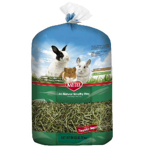 Kaytee Timothy Hay for Small Animals, 96 oz.
