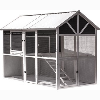 Precision Pet Garden Walk in Chicken Coop